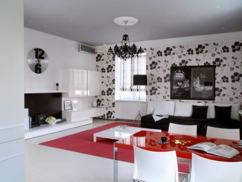 Кухня-гостиная прихожая дизайн фото