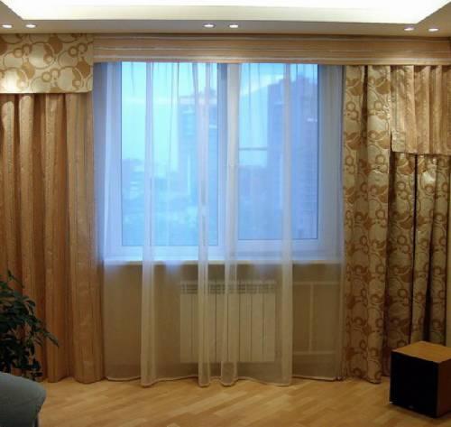 дизайн гардин для гостиной