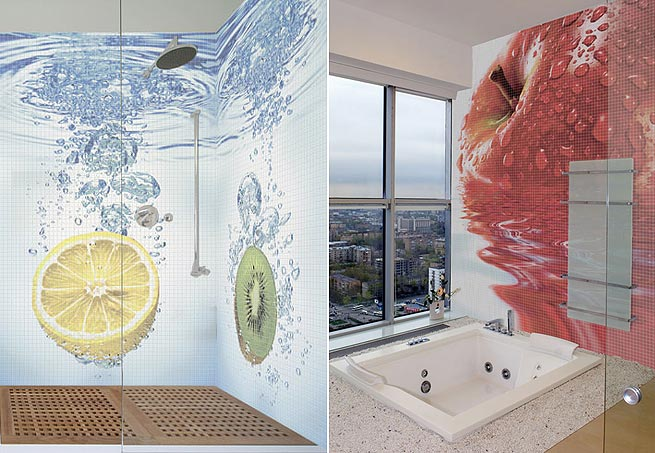 Панно для ванной комнаты пвх