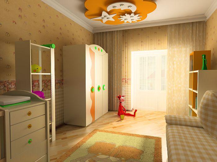 Ремонт в детский спальне